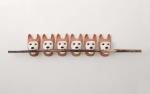 each mask 32x19x166,5cm,2016